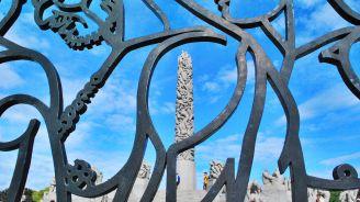 Oslo. Parc d'escultures de Vigeland.