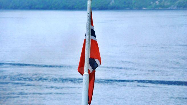 Bandera noruega.
